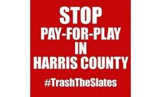 For Harris County Republicans, Trash the Slate is the thing